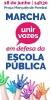 Marcha em defesa da Escola Pública _1