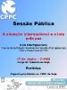 Sessão Pública em Beja: