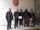 Entrega na embaixada da Dinamarca em Lisboa uma posição contra o diploma L87_1