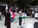 FIM À AGRESSÃO! Palestina livre e independente!_3