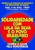 Solidariedade com o povo brasileiro Pela democracia no Brasil_1